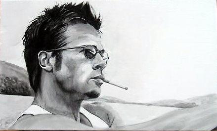 Brad Pitt by poussin